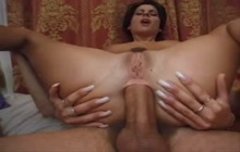 Anal gaping session with Krisztina and Soucha